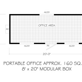 modular office floor plan