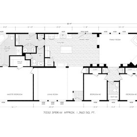 modular home floor plan