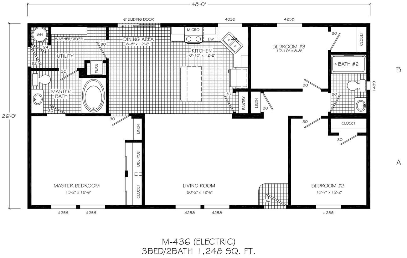 Prefab home floor plans modern for Modern modular home floor plans