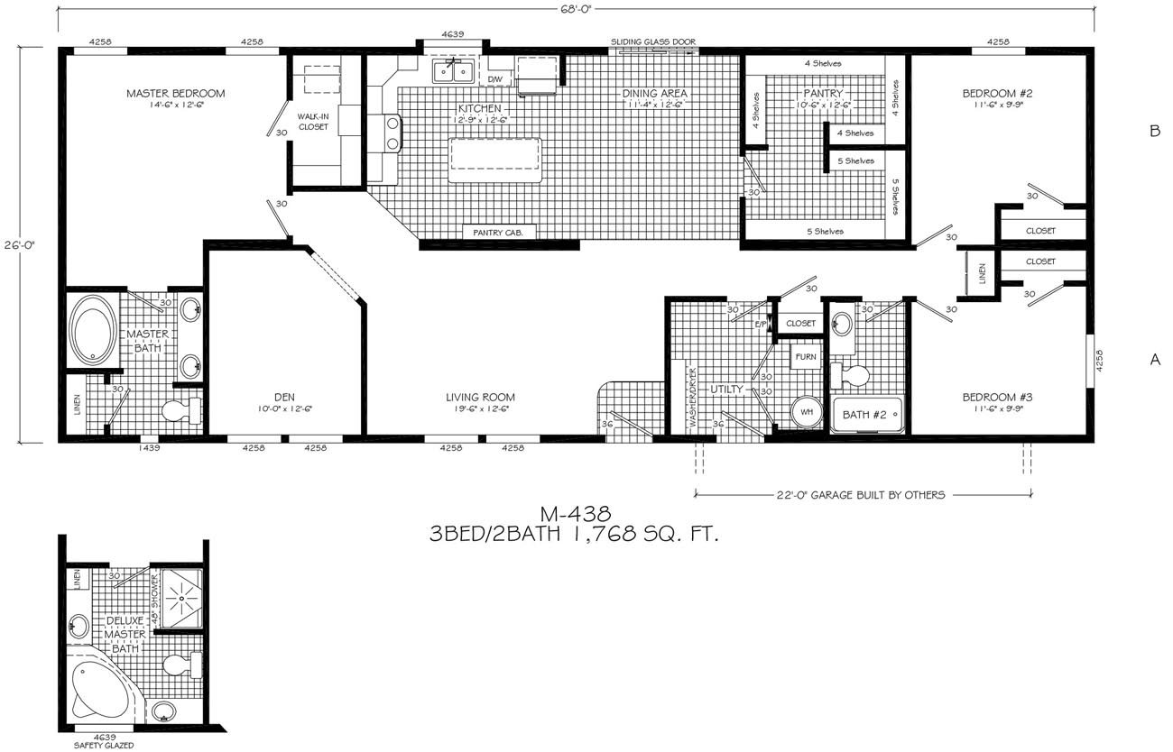 Modern prefab floor plans gurus floor for Modular contemporary homes floor plans